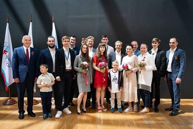 В «Сириусе» прошло награждение российских шахматистов-юниоров
