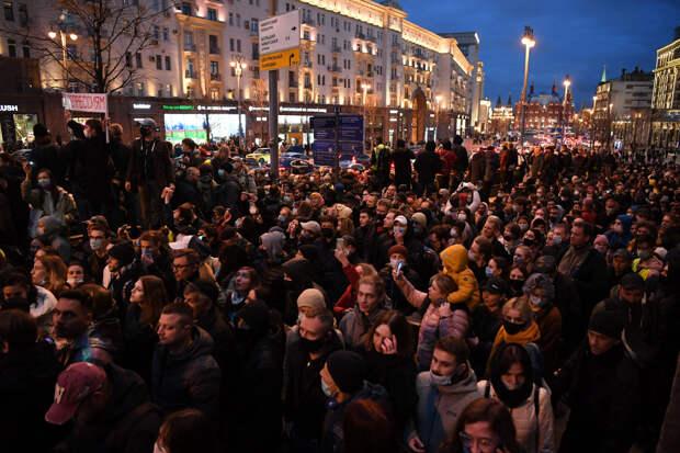 В России и городах Европы прошли многотысячные акци...