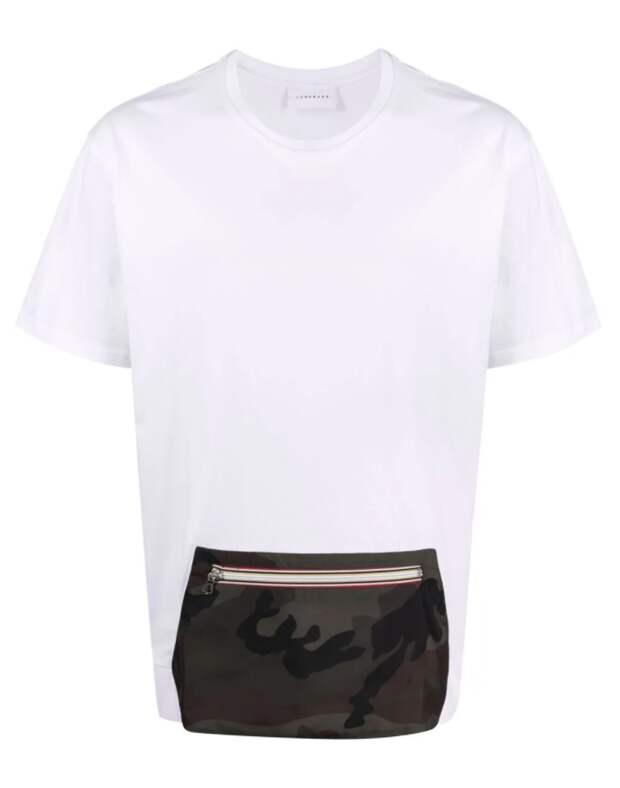 мужская футболка с карманом