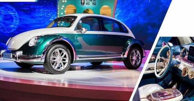 Volkswagen может «засудить» китайцев за копирование дизайна «Жука»