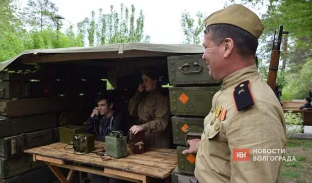 Командирский блиндаж иочередь закашей: вВолгограде проходит реконструкция к9Мая
