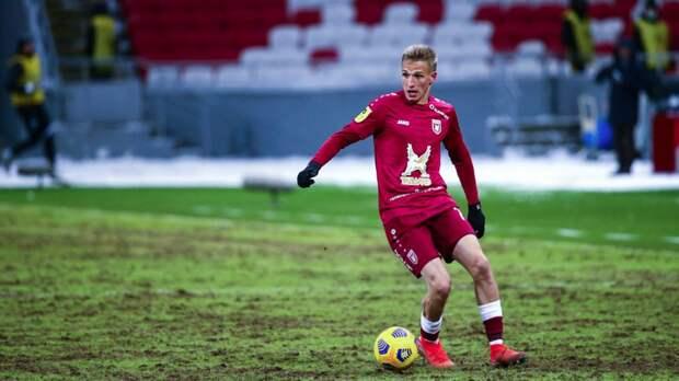 Знакомим с самым быстрым футболистом России. Самошников взлетел в сборную из ЛФЛ