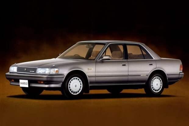 Toyota Mark II X80 90-е, авто, автомобили, бу автомобили, лихие 90-е, перегонщик, покупка авто, факты