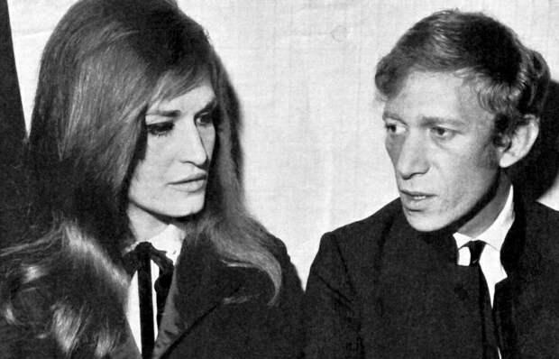 Певица Далида и Люсьен