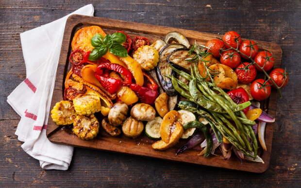 Сохраняем сочность в запечённых овощах. \ Фото: 1zoom.me.
