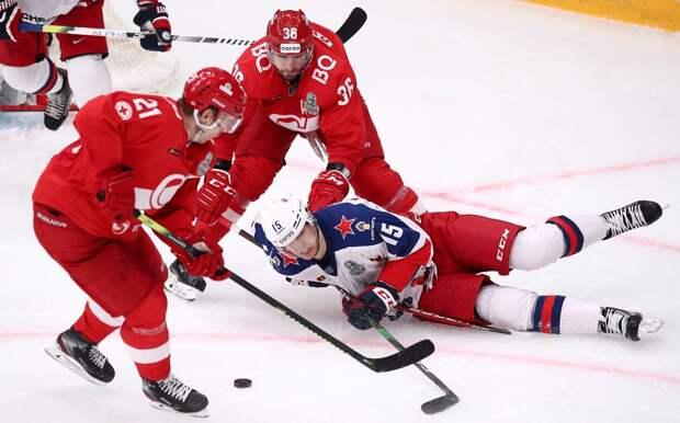 «Спартак» в сезоне-2021/22 будет проводить домашние матчи КХЛ в «Мегаспорте»