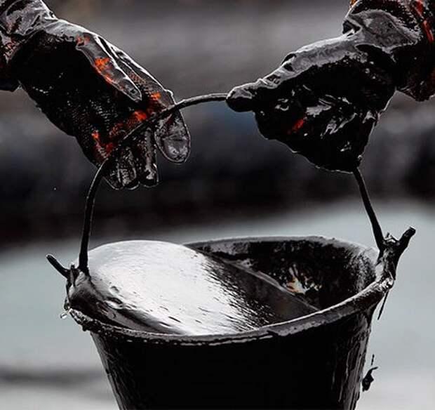 В Коми рисуют нефтью