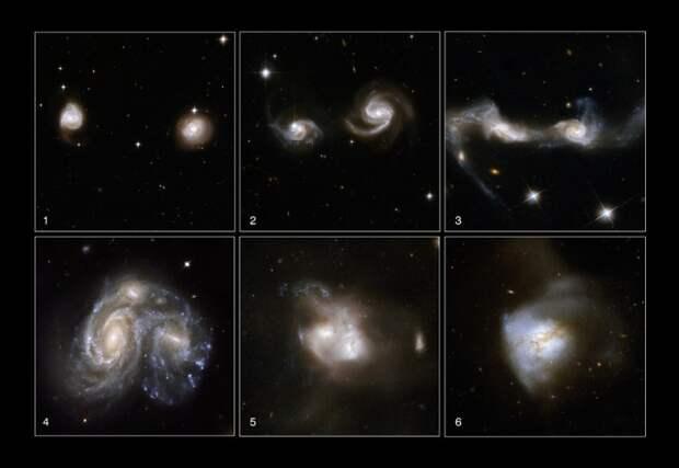 Такие разные галактики.
