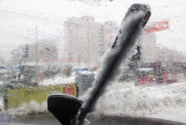 Популярная зимняя проблема. /Фото: drive2.ru.