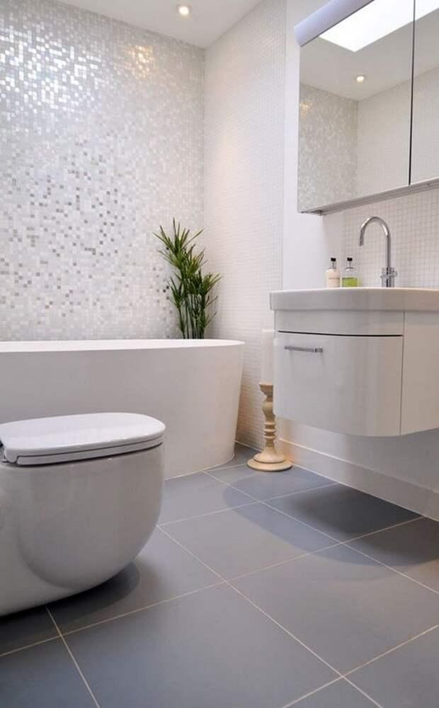 Маленькая ванная комната может быть стильной и удобной