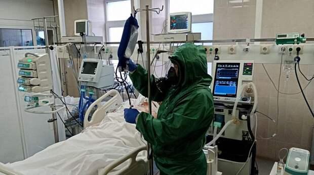 В Краснодарском крае скончался мужчина с COVID-19