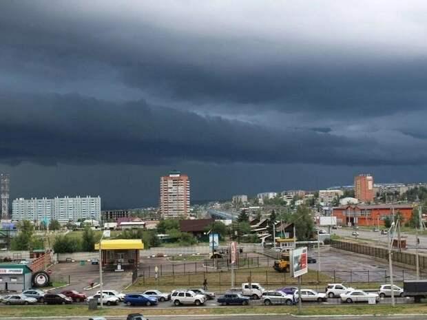 Дождь с грозой ожидается в Чите 13 июня