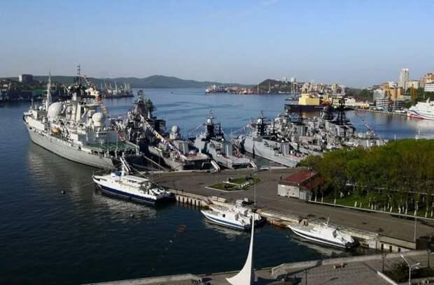 Российские корабли развернули в Тихом океане в рамках учений