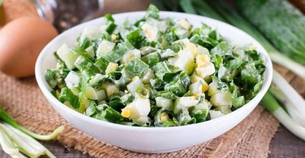 Весенний салат на раз-два. Это блюдо никогда не надоест