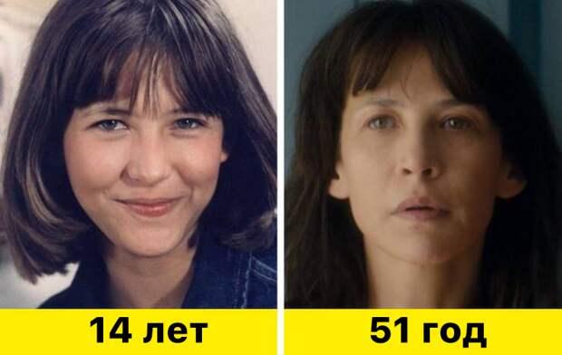 """11. Софи Марсо - """"Бум"""" (1980) и """"Мадам Миллс, идеальная соседка"""" (2018)"""