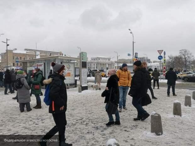Политолог Захаров назвал провальными незаконные митинги 31 января