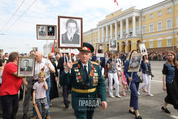 Открыта горячая линия проекта «Бессмертный полк-онлайн» в Нижнем Новгороде