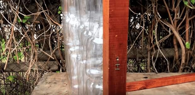 Замечательная идея переработки пластиковых бутылок: парник до -20 градусов