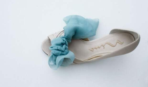 как переделать туфли с открытым мыском
