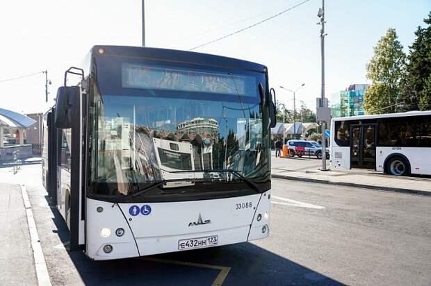 В горах Сочи в праздники увеличат число общественного транспорта