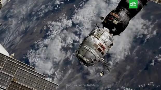 Российский модуль «Пирс» отстыковали от МКС