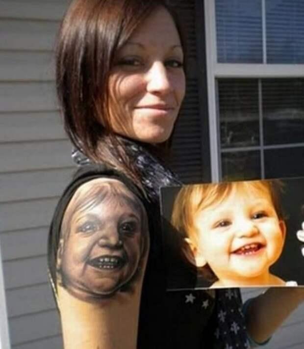 ТОП-20 неудачных татуировок, от которых даже мороз по коже