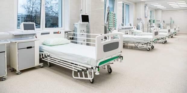 Собянин осмотрел строящийся лечебно-диагностический комплекс ИКБ №1.Фото: М. Мишин mos.ru