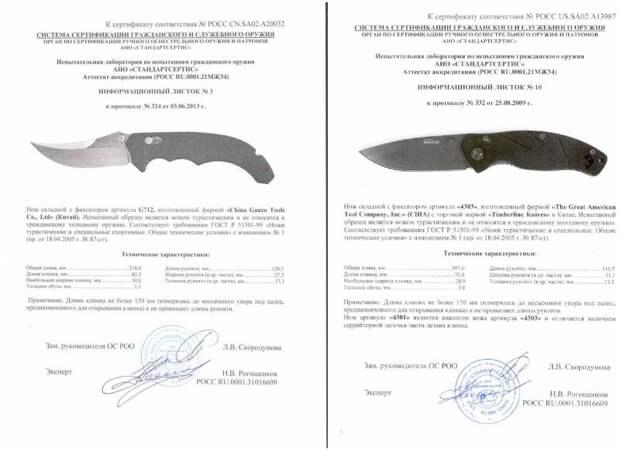 Ножи в России: холодное оружие или нет?
