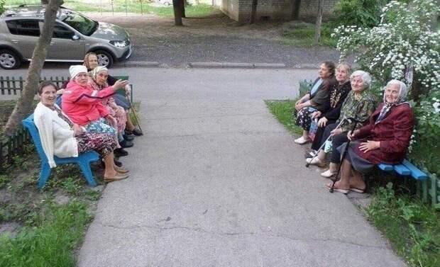 Бабушки на выданье