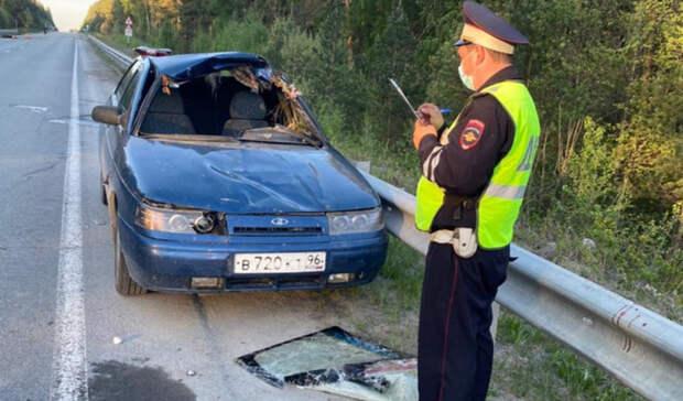 Четыре человека пострадали вДТП слосем насвердловской дороге