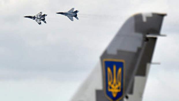 Самолеты Миг-29 украинских ВВС. Архивное фото