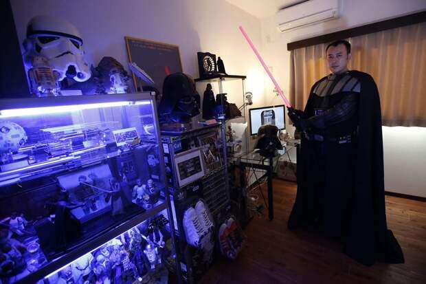 Фанаты «Звездных войн» иихчумовые коллекции