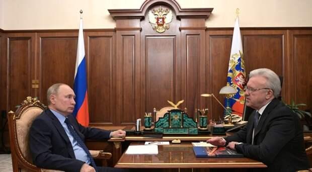«До порядка ещё далеко»: глава Красноярского края отчитался Путину о ситуации в лесной отрасли
