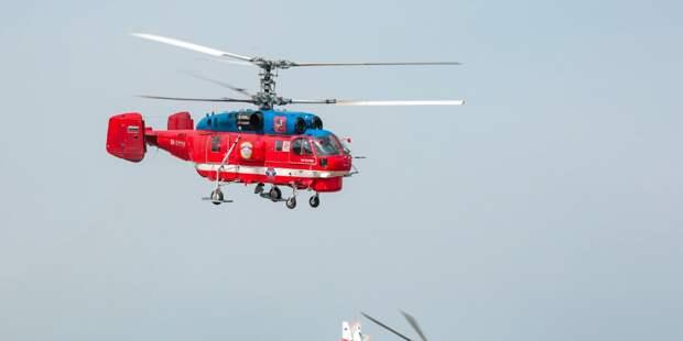 Московский авиацентр принял участие в выставке «HeliRussia 2021»