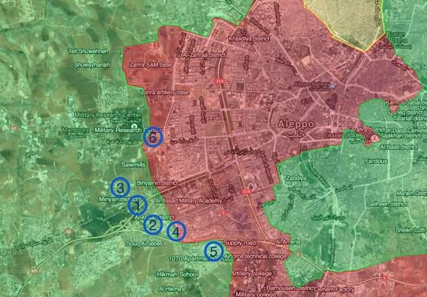 Битва за Алеппо. 28.10.2016 - Вечер
