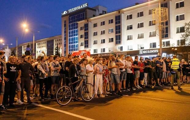 Протестующий погиб в ходе столкновений с силовиками в Минске