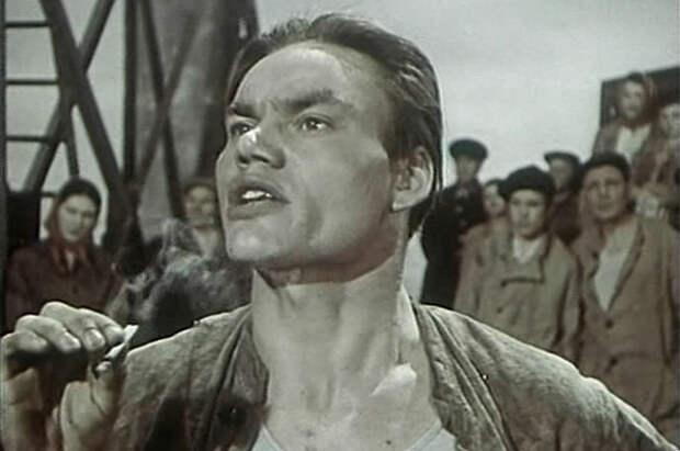 Афанасий Кочетков в фильме «Екатерина Воронина», 1957 год.