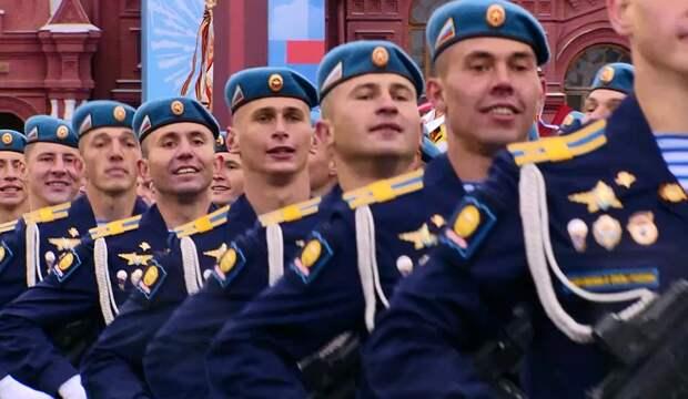 Рязанские десантники приняли участие в Параде Победы в Москве