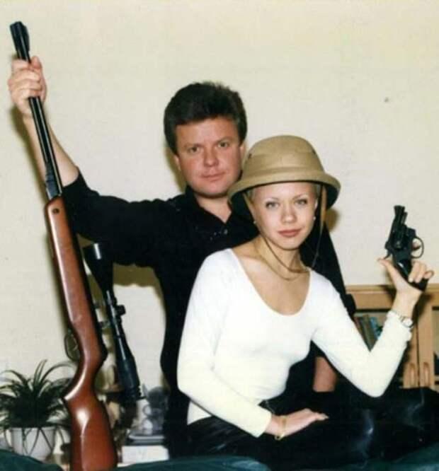 Как выглядели российские знаменитости в1990-х