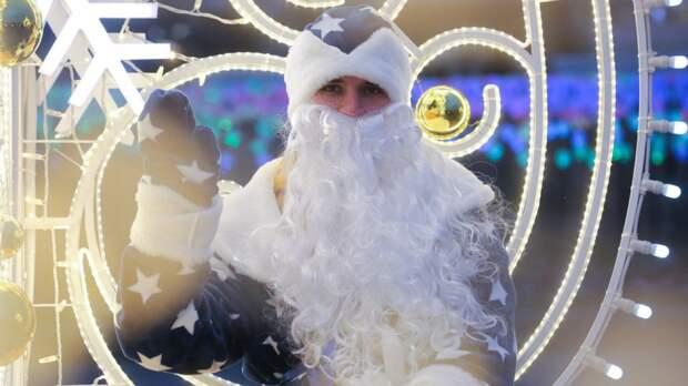 Дед Мороз прибыл в Кингисеппский район с официальным визитом