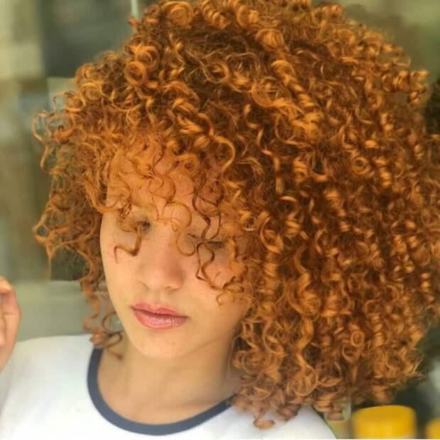 Завивка на короткие и средние волосы фото 9