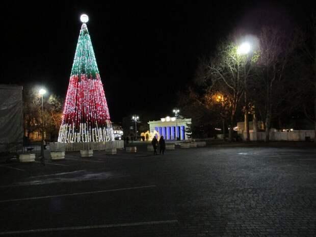 Новогодний Севастополь 2020