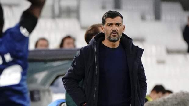 Португалец Консейсау может сменить Семака на посту главного тренера «Зенита»