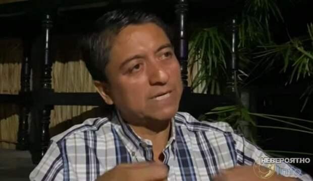 Двухметровый оборотень пугает жителей мексиканского штата Чьяпас