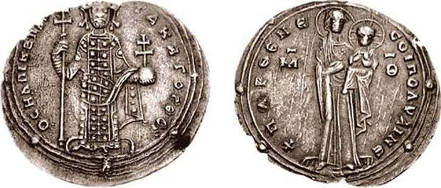 О византийских монетах