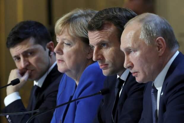 Безответственные заявления официальных лиц из окружения президента Владимира Зеленского наводят Берлин, Париж и Москву...