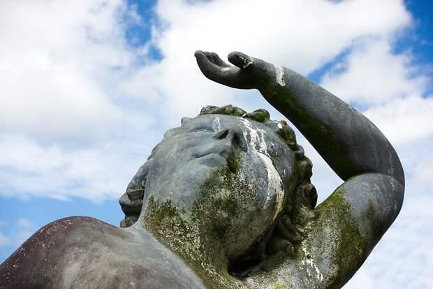 Статуя, Несчастье, Плохо, Удача, Карма, Птица, Удаление