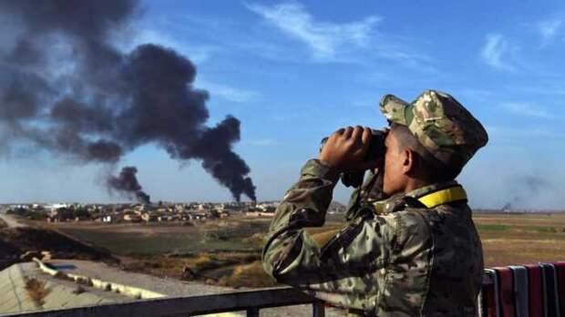 Турецкая артиллерия нанесла удар по району военной базы РФ в сирийском Айн-Иссе