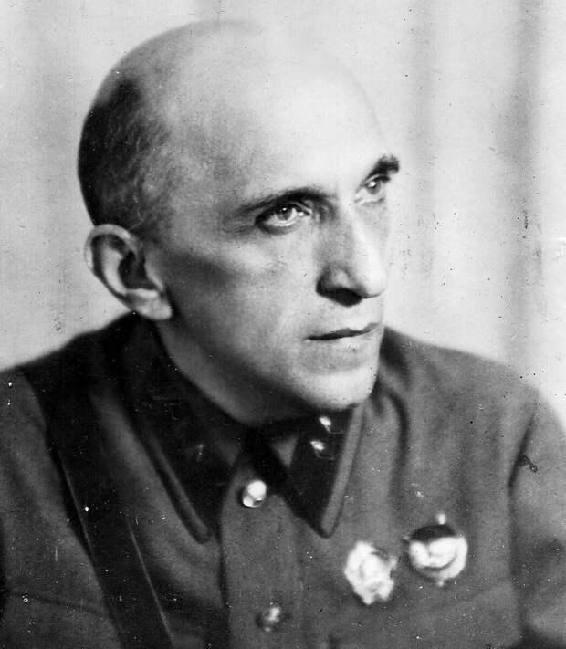 Яков Серебрянский в 1941 году. Архивное фото
