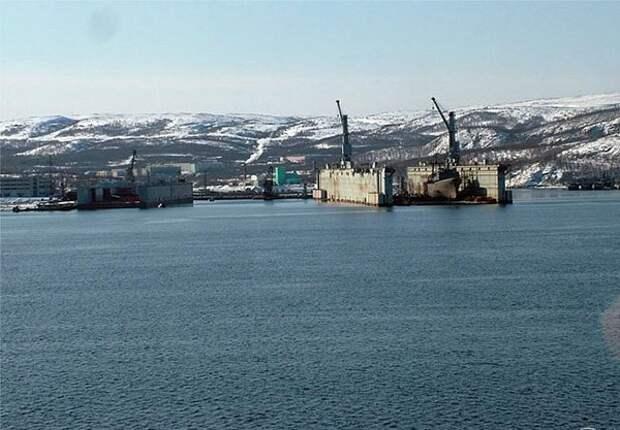 Территорию военно-морской базы Северного флота урезали в интересах Роснефти